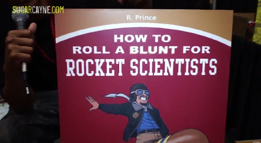 how to roll a blunt for rocket scientists