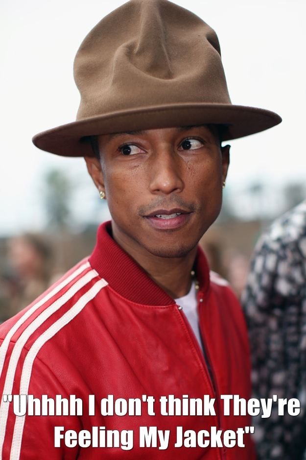 pharrell ugly hat