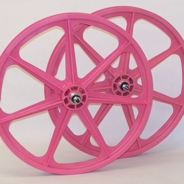 pink skyway tuff wheels