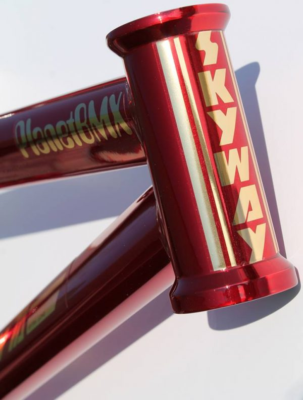 skyway candy apple red