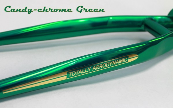 skyway candy chrome green