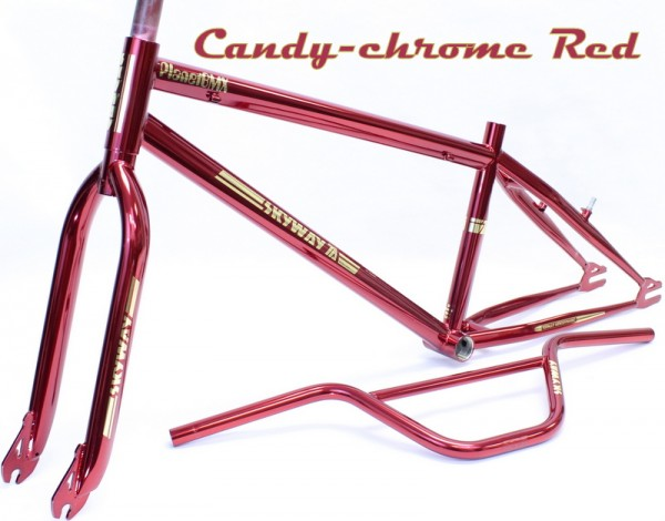 skyway candy chrome red