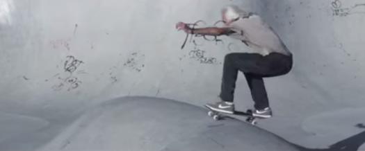 60 year old skateboarder