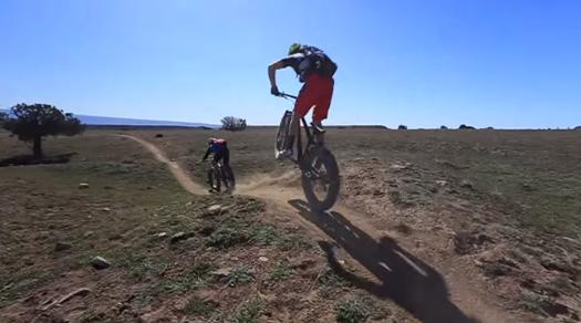 fat bike jump