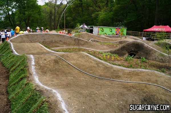 Philly pump track