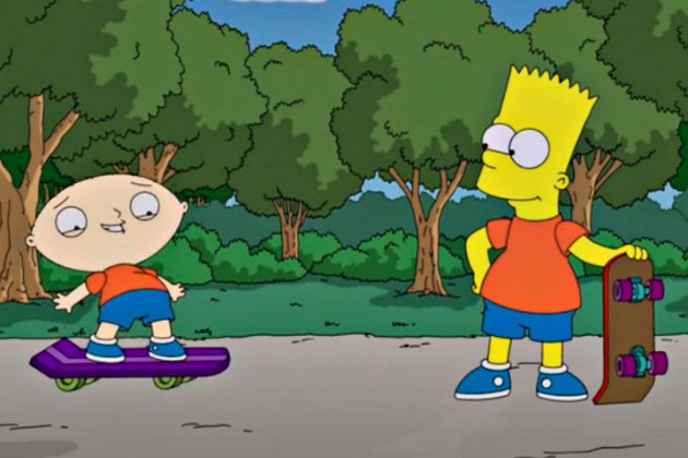 the-simpsons-family-guy-crossover