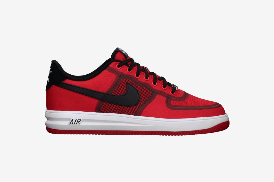 Nike Air Force 1 Lunare Rosso / Bufalo Nero TzMyE