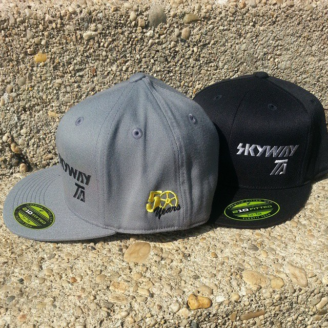 skyway 50th anniversary hats