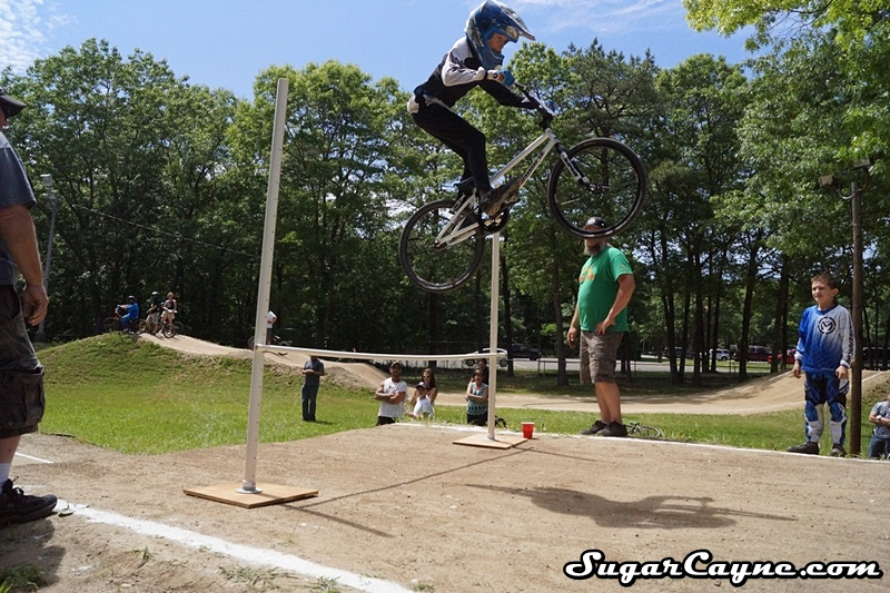 Brent Sadenwater, high jump