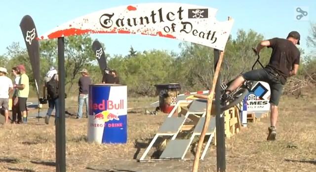 texas toast, gauntlet of death