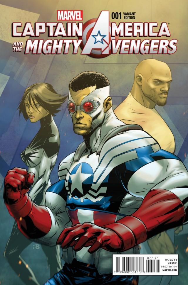 captain america 1 variant cover