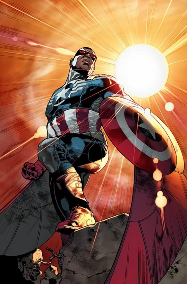 captain america, sam wilson