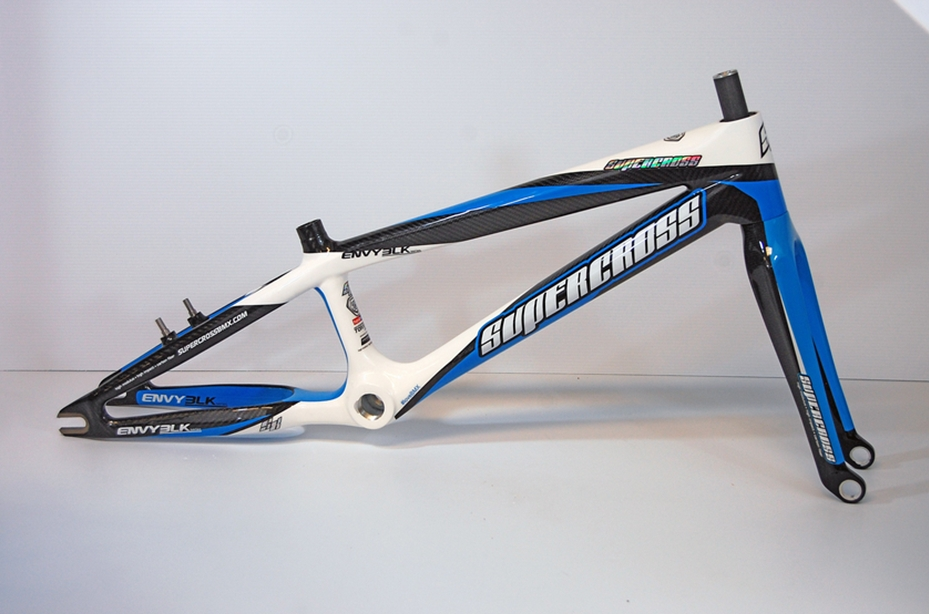 Supercross Envy BLK Carbon Fiber BMX Race Frame
