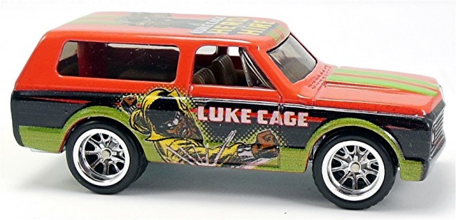 Luke Cage hot wheels 2