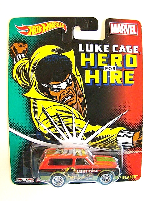 Luke cage hot wheels 3
