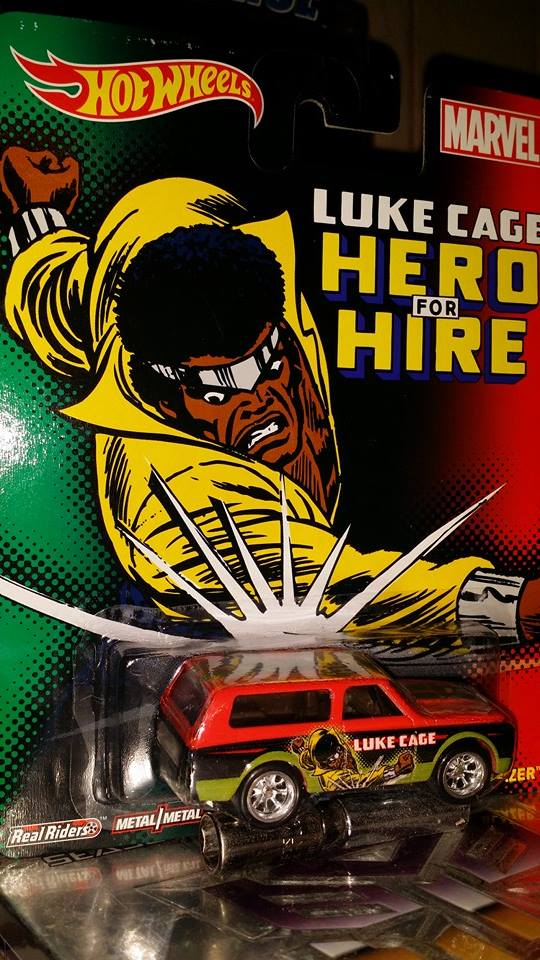 Luke cage hot wheels