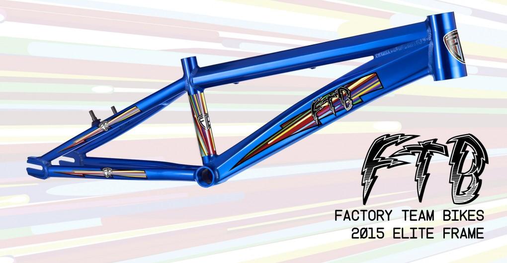 ftb 2015 elite BMX frame