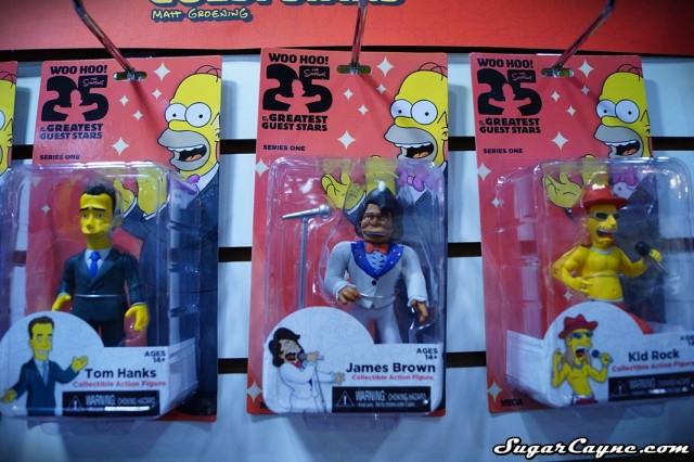 Neca James Brown, Simpsons