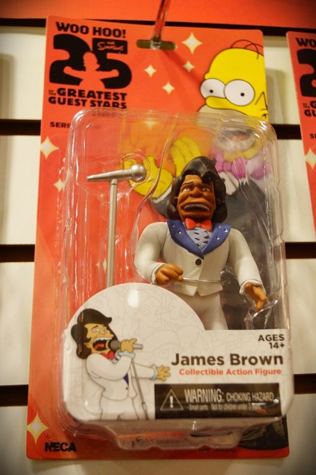 Neca James Brown, the Simpsons
