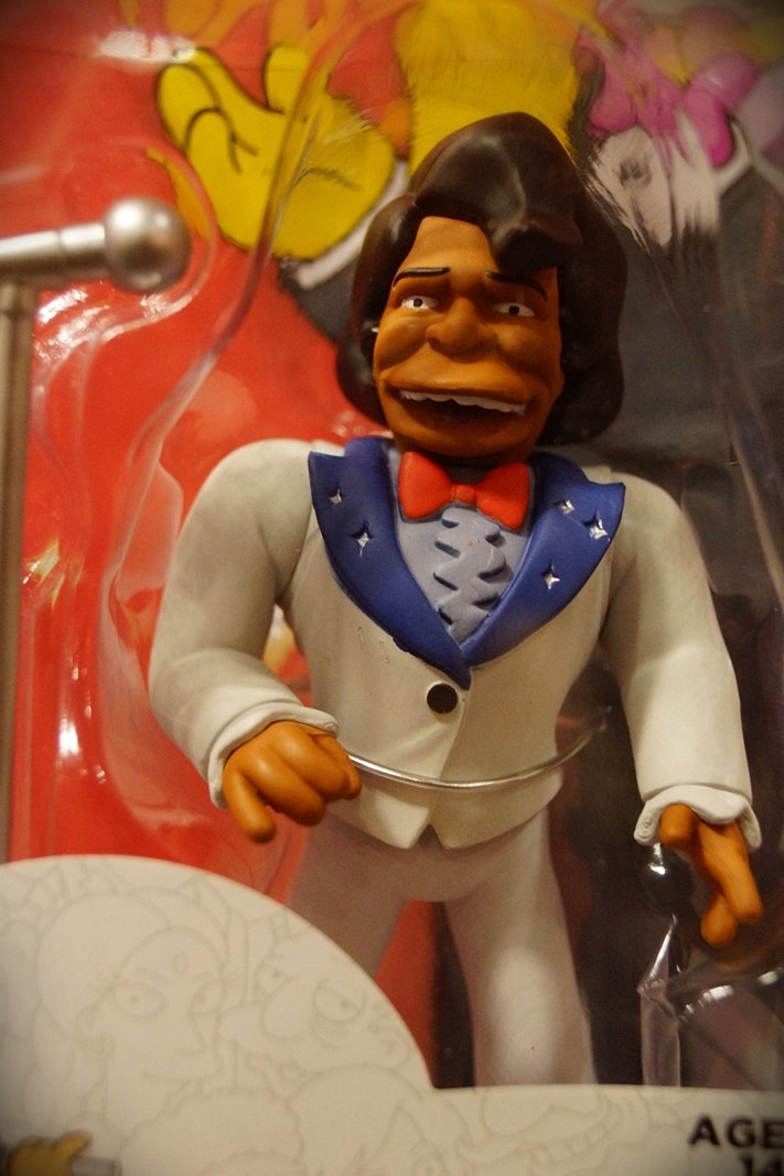 Neca James Brown, Simpsons figure