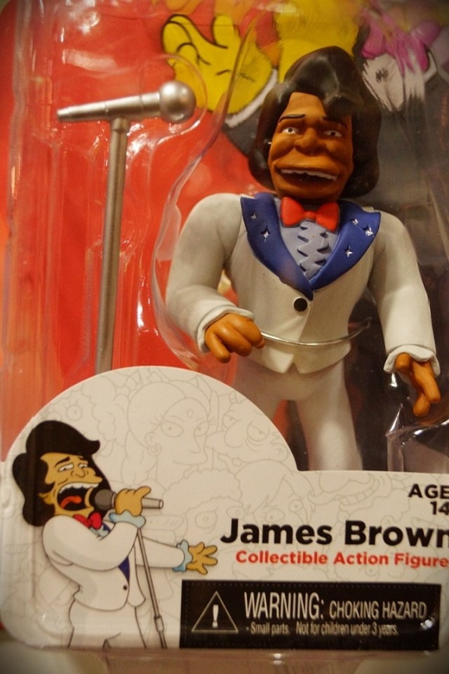Neca James Brown, Simpsons toy