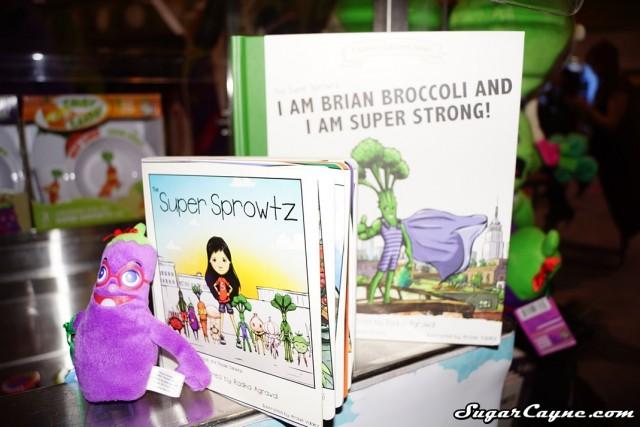 Super Sprowtz, books