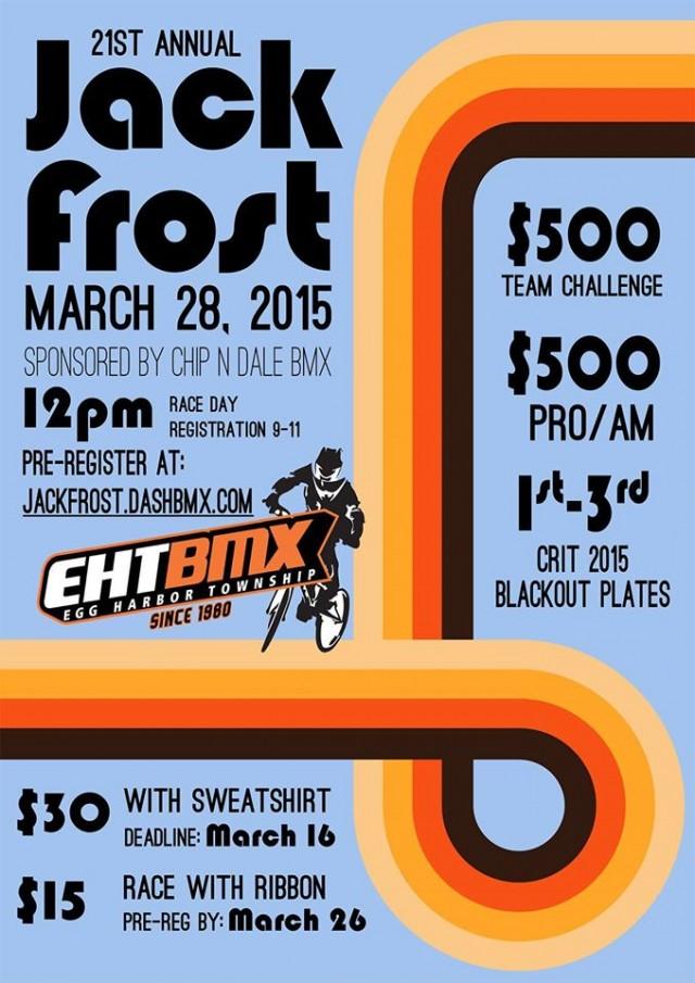 EHT BMX Jack Frost race