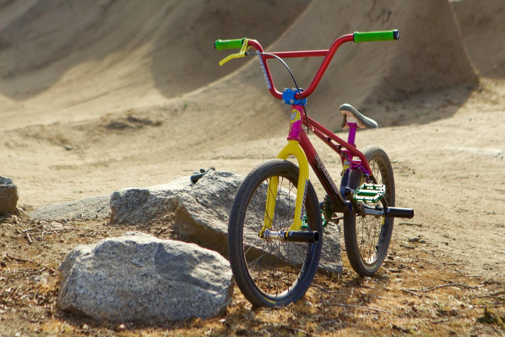 supercross retro bmx freestyle bike