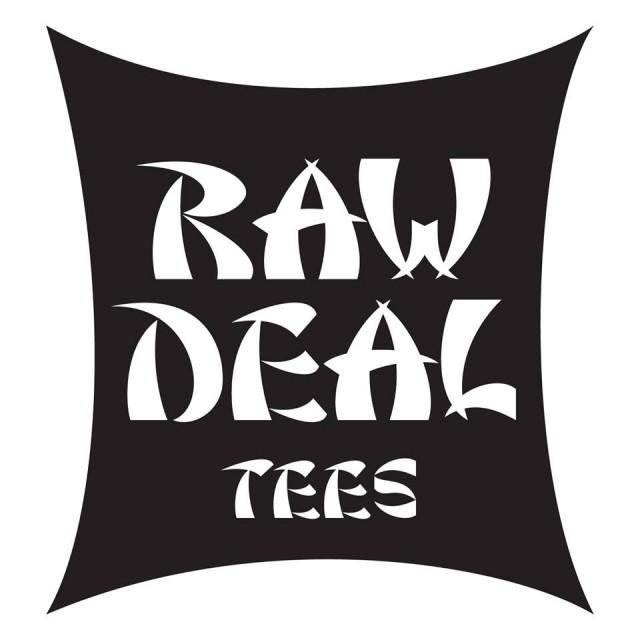 raw deal tee logo
