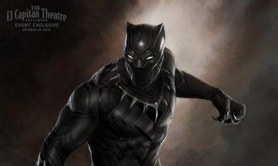 Black Panther marvel 2017 poster