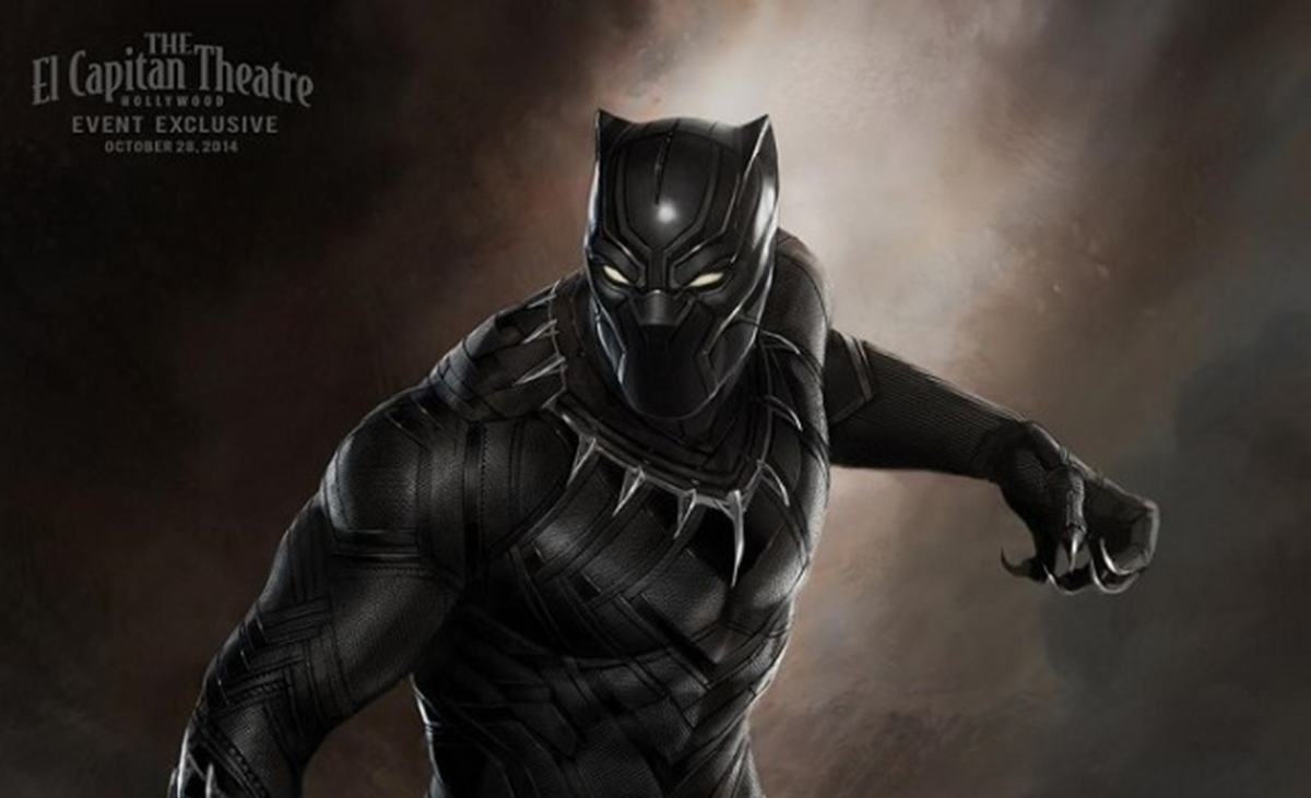 Black Panther marvel 2017 poster
