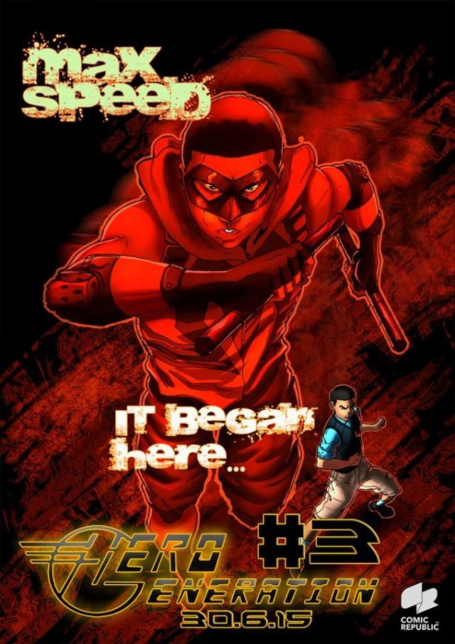 max speed comic book