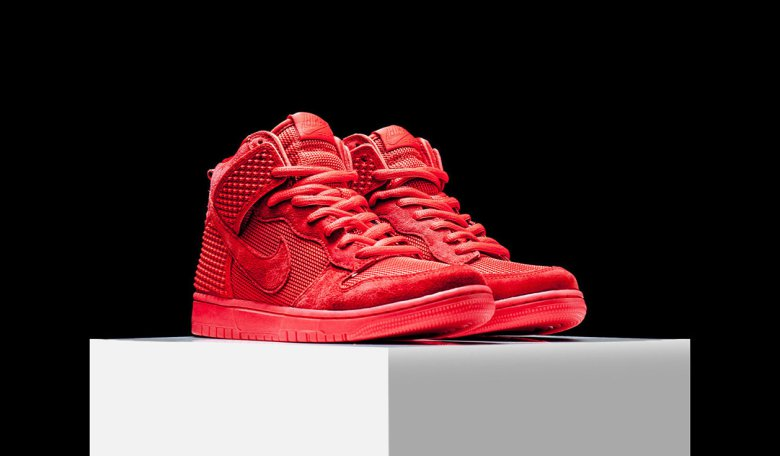 390174bc409 Nike Dunk High CMFT PRM – Red October –  Sneakers