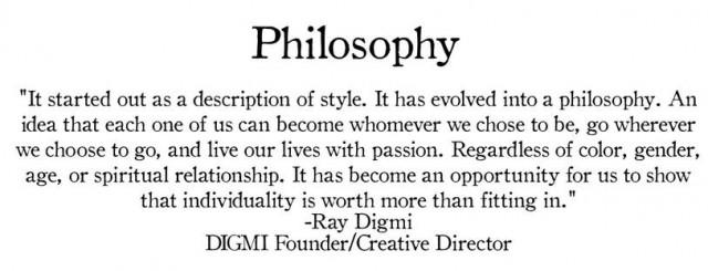 Digmi Philosophy
