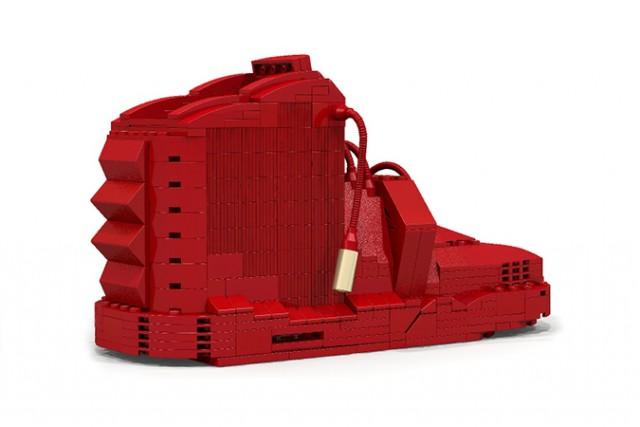 Nike Air Yeezy 2 Lego 3