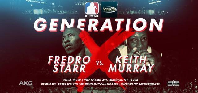 mc war Generation x battle