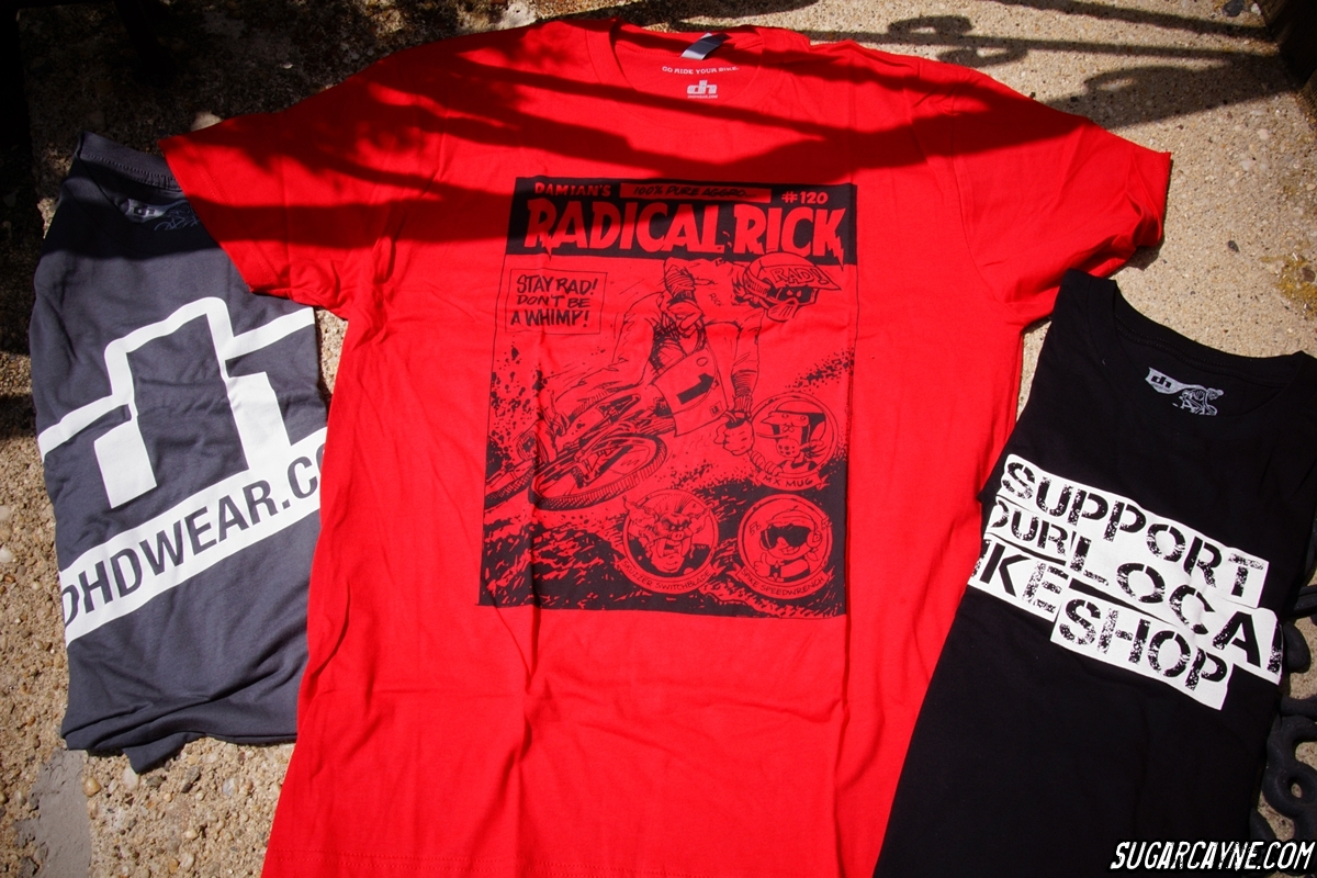 DHD Wear, Radical Rick tee