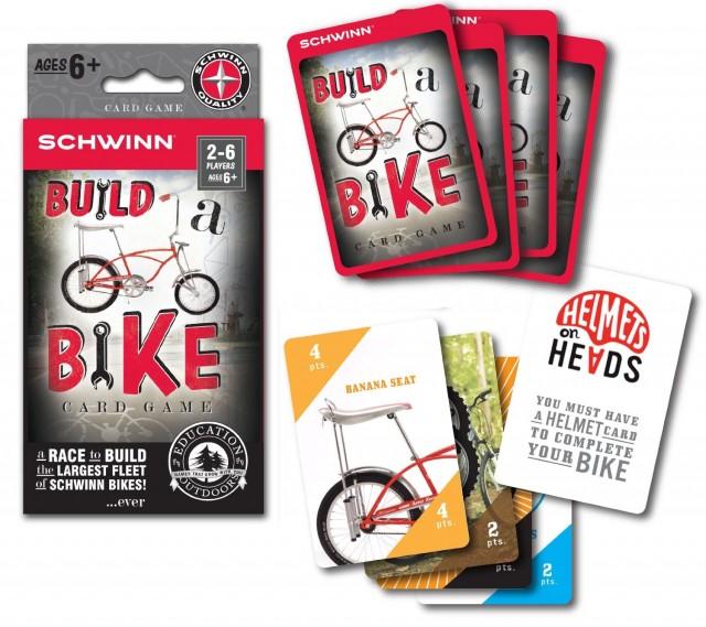 Schwinn Build A Bike Card Game