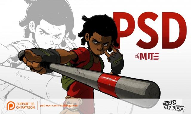 PSD Mute, Stab Gunner