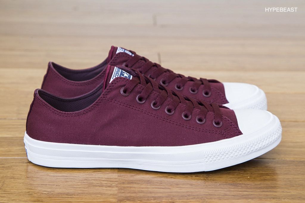 Converse Chuck Taylor All Star II - Bordeaux - and - Thunder