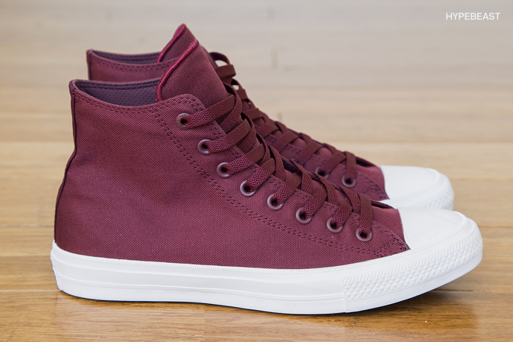converse chuck taylor all star ii burdeos
