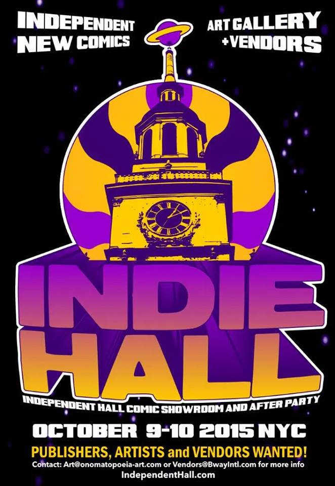indie hall comic con