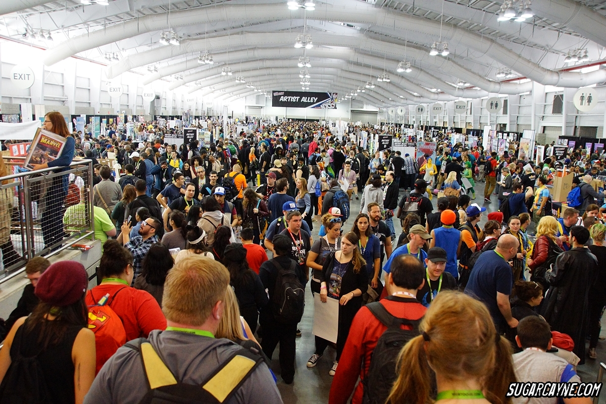 Artist Alley NYCC