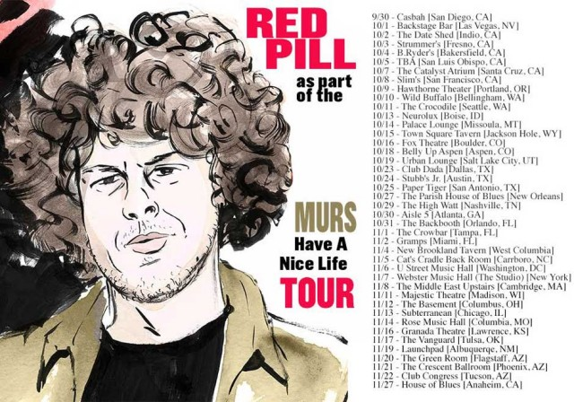 Red Pill Murs Tour