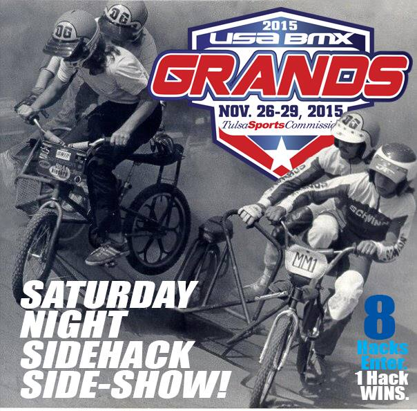 USA BMX grands Side Hack