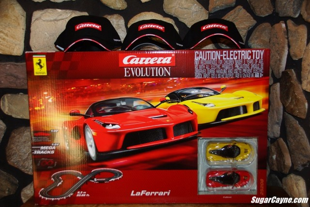 carrera toys, evolution, laFerrari