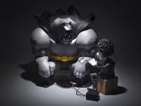 i wont be a hero tim, batman