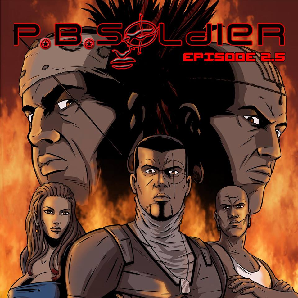 p.b.soldier, cover