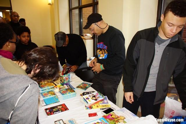 Jerry Craft, black comic book festival