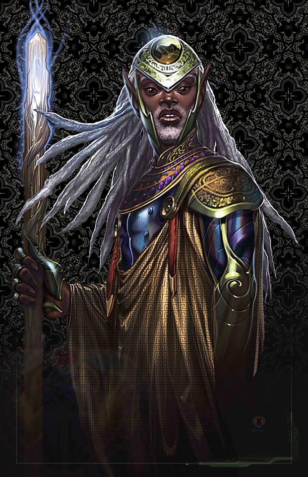 Mshindo Kuumba, elf-Ra